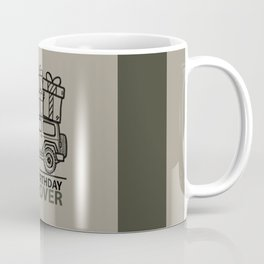 Happy Birthday 'JEEPLOVER' Sahara Coffee Mug