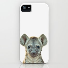Baby Hyena iPhone Case