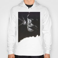 lou reed Hoodies featuring Lou Reed Is Dead by Tom Christophersen Creates