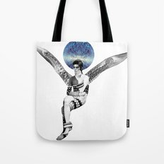 DAVID BOWIE ANGEL Tote Bag