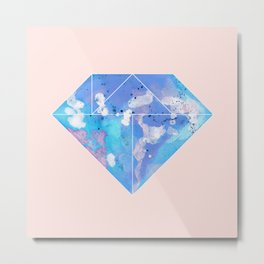 Tangram Diamond For Metal Print