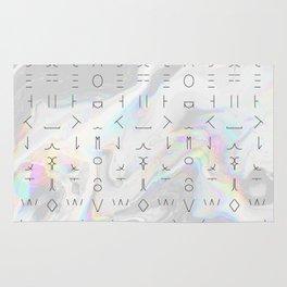 Minimal Alphabet Rug
