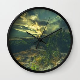 Road to oblivion Wall Clock