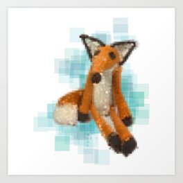The Fox in The Little Prince Art Print
