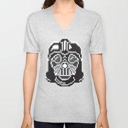 Darth Vader pixel art Unisex V-Neck