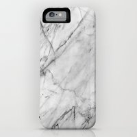 iPhone 6 Power Case featuring Marble by Patterns and Textures