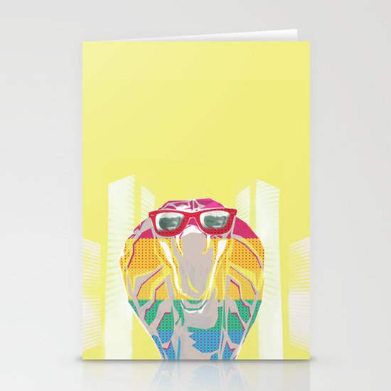 Cobra don't care Stationery Cards