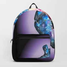 Galaxy anatomical heart Backpack