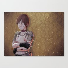 Resident Evil - Rebecca Chambers Tribute Canvas Print