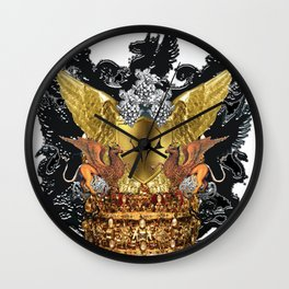 Kea Crest Wall Clock