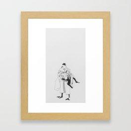 The Philadelphia Story Framed Art Print