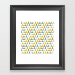Graphic and Glitz in Elements Framed Art Print