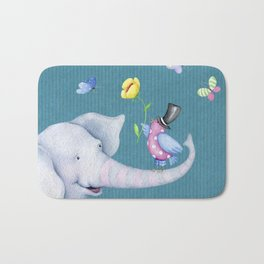 Elly and Chirp Bath Mat