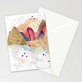 montañas Stationery Cards