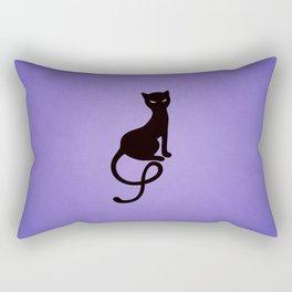 Gracious Evil Black Cat Rectangular Pillow