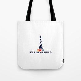 Kill Devil Hills - North Carolina. Tote Bag