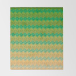 Paranoia Pattern Throw Blanket