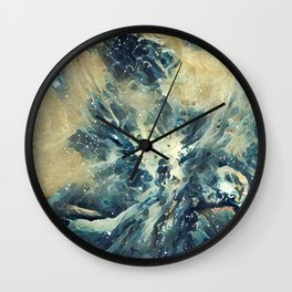 ALTERED Sharpest View of Orion Nebula Wall Clock