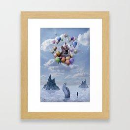 Sweet Castle Framed Art Print