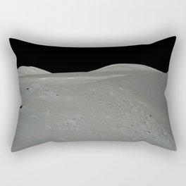 Apollo 17 - Astronaut on the Crater Rectangular Pillow