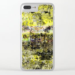 Burning Down the Concept of Heaven Clear iPhone Case