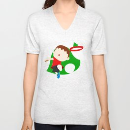 Super Smash Bros The Villager Unisex V-Neck