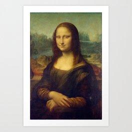 Mona Lisa by Leonardo da Vinci Art Print