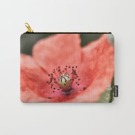 Poppy Macro Carry-All Pouch