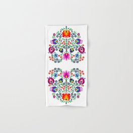 Folk Pattern - Flower Hand & Bath Towel