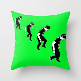 Shane Walk Throw Pillow