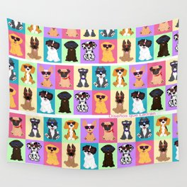 Doggi Breeds summer by Diseños que ladran Wall Tapestry