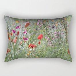 Meadow Flowers Rectangular Pillow