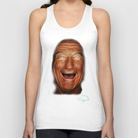 robin williams Tank Tops featuring Robin Williams Abstracto by Tazmatic