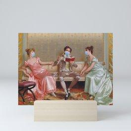 Social Distancing Series II Mini Art Print