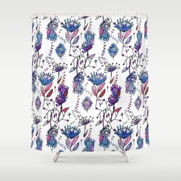 Protea Flower Lilac #homedecor Shower Curtain