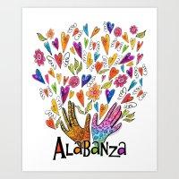 Alabanza Art Print