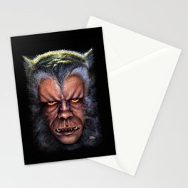 The Werewolf Curse Stationery Cards