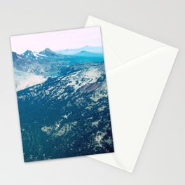 Three Sisters and Broken Top, Oregon Stationery Cards