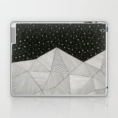 Stripe Mountains Laptop & iPad Skin