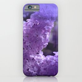 dreaming of lilacs iPhone Case