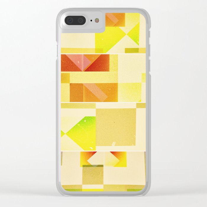 Deep Nature's Forlorn Cubic Dream Clear iPhone Case