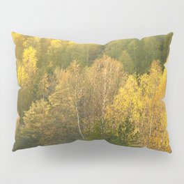 Forest In Sunset Tones Pillow Sham