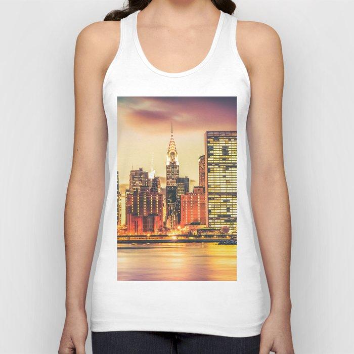 New York City Skyline Unisex Tank Top