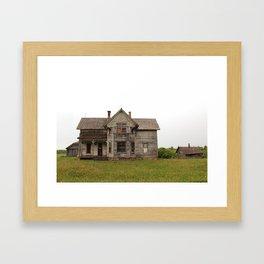 forgotten home Framed Art Print