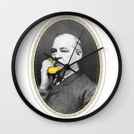 Grover Cleveland & Bananaphone Wall Clock