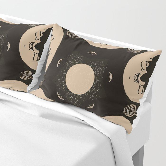 Ouija Wheel of the Moon - Beyond the Veil Pillow Sham
