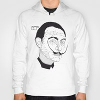 dali Hoodies featuring DALI by pointing@faces