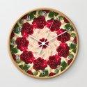Old Red Rose Kaleidoscope 13 by christopherjohnsonart