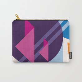 Abstract modern geometric background. Composition 7 Carry-All Pouch