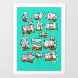 My Lover Art Print